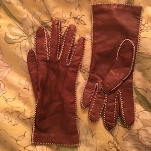 Accessories - Leather Gloves sz S